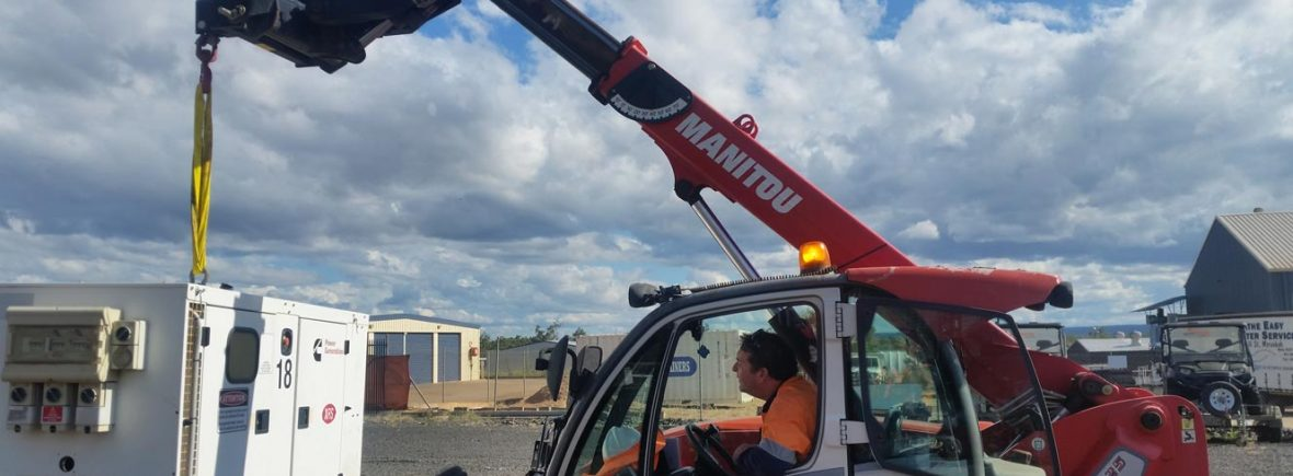Telescopic Materials Handler (Tele-Handler) Training